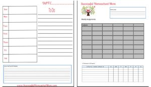 Ultimate custom homeschool planner